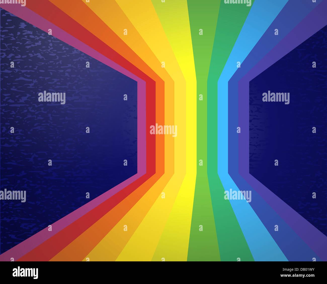 Resumen de Rainbow. Imagen De Stock