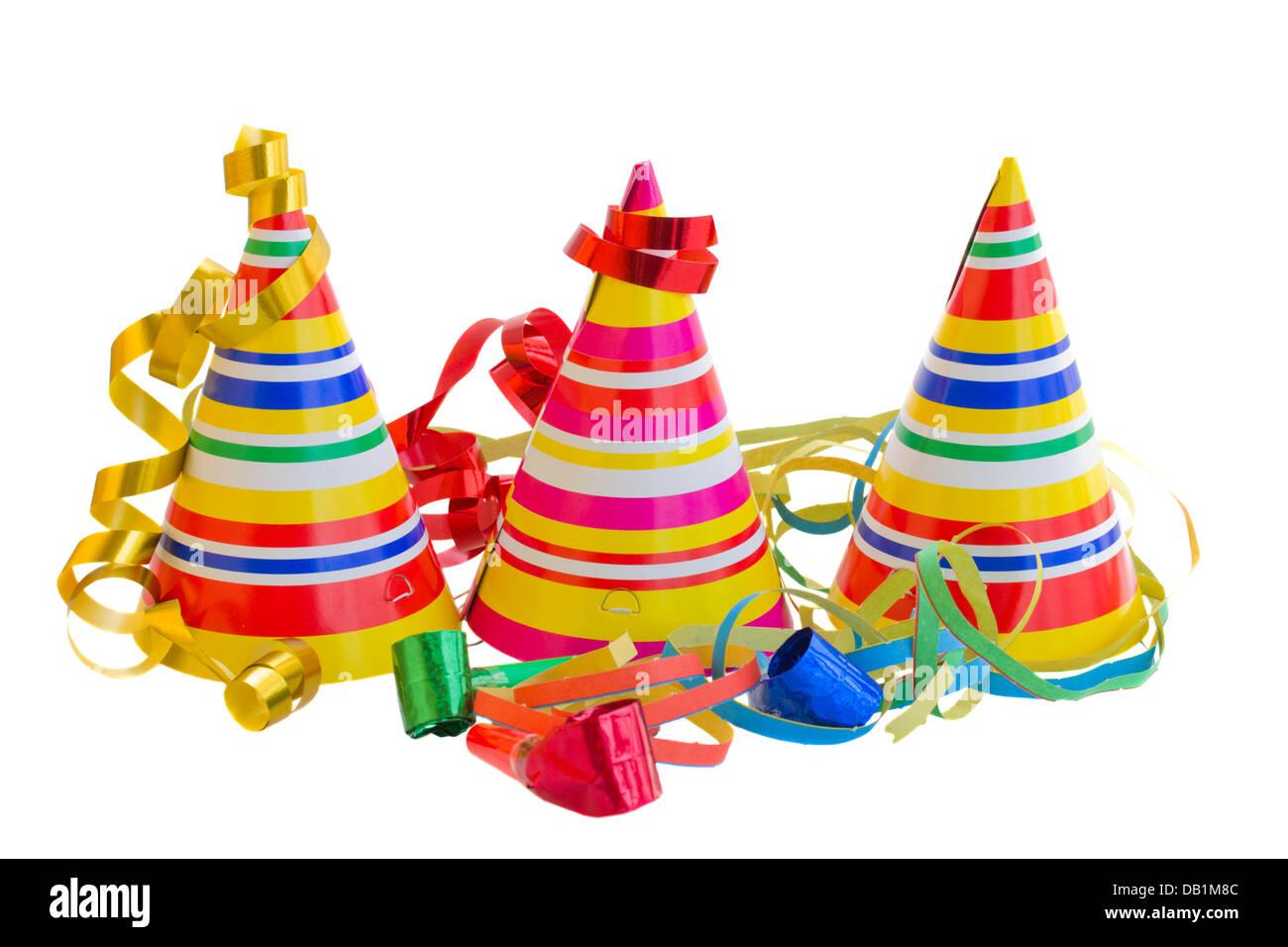 3f8812af323 Sombreros para fiesta de cumpleaños Foto   Imagen De Stock  58430188 ...