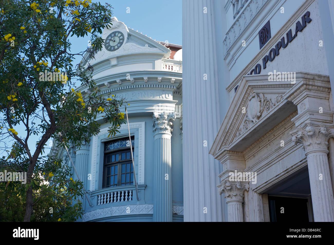 Detalle arquitectónico, Ponce, Puerto Rico Imagen De Stock