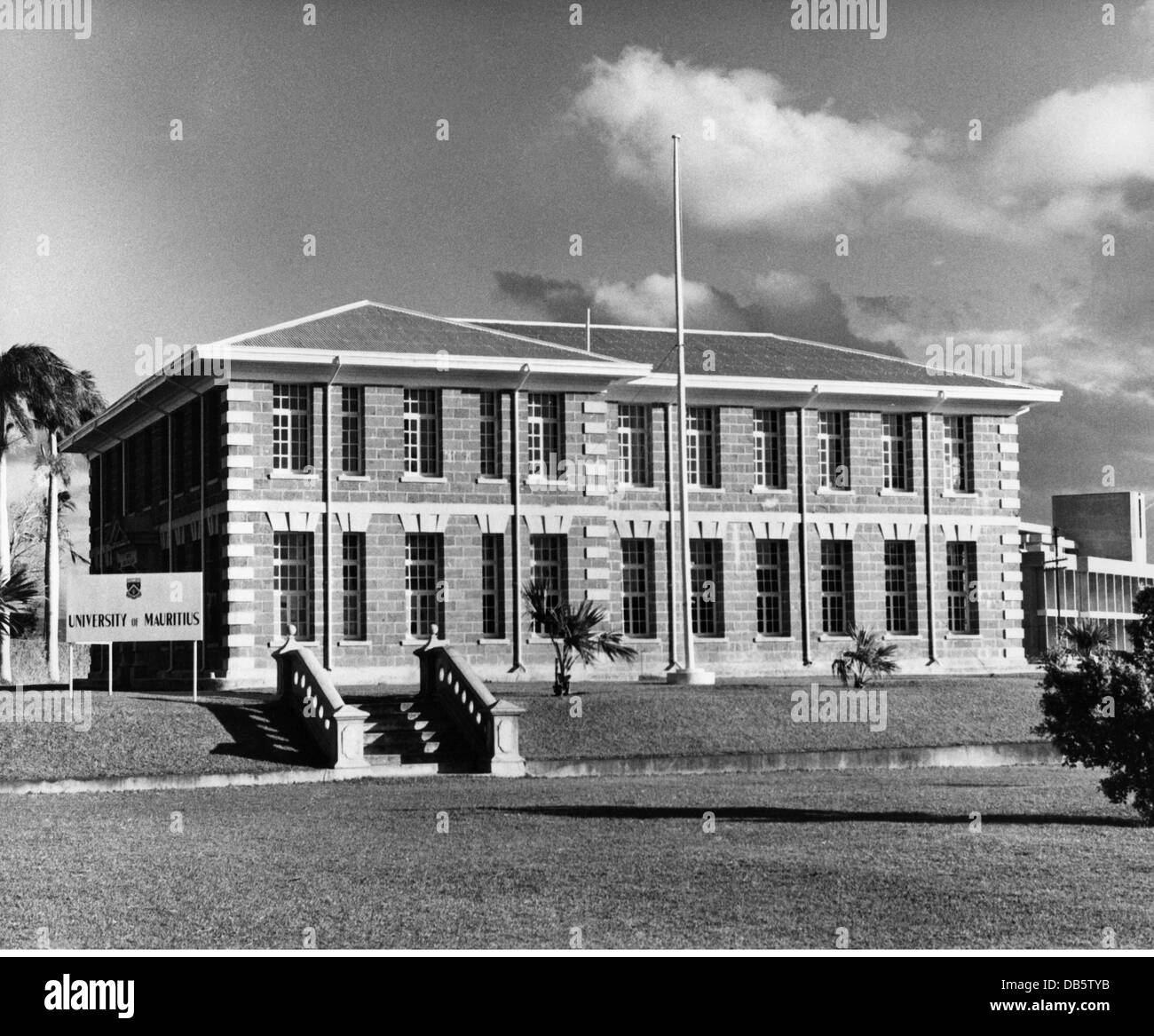 Geografía / viajes, Mauricio, Vacoas, Universidad, Le Reduit (1960, 60s del siglo XX, histórico, Histórico Imagen De Stock