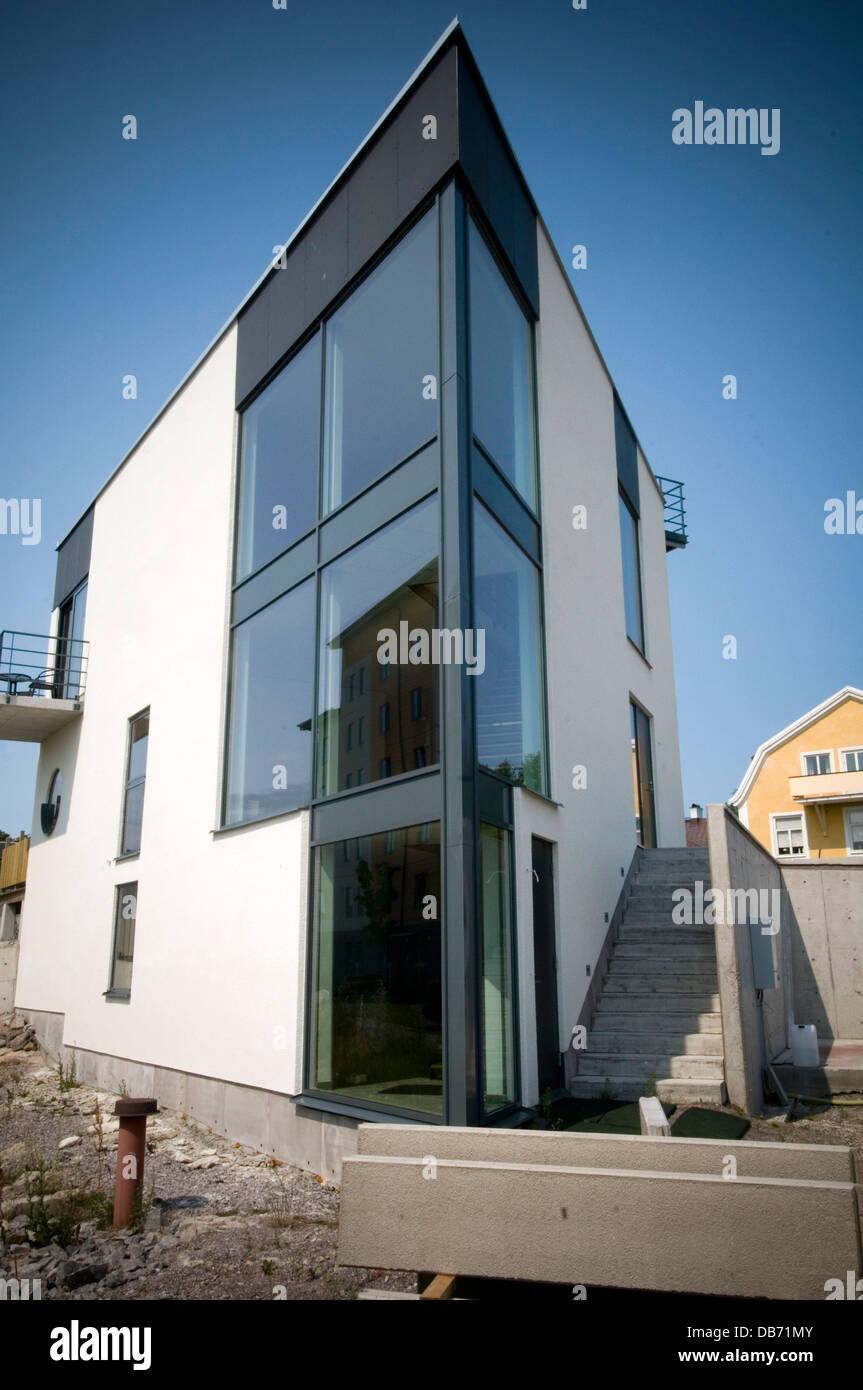 Suecia moderna casa casas casa casas casa impresionante for Diseno exterior casa contemporanea