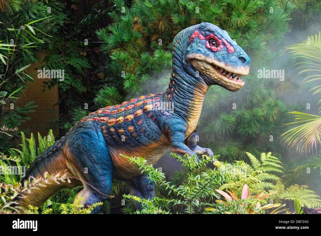 Tyrannosaurus desde finales del período Cretácico Imagen De Stock