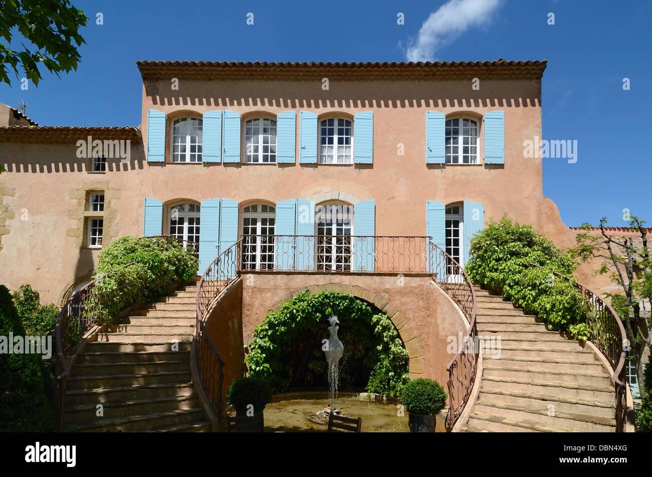 Château Vignelaure Bastide Casa o mansión Wine Estate Rians Provence Imagen De Stock