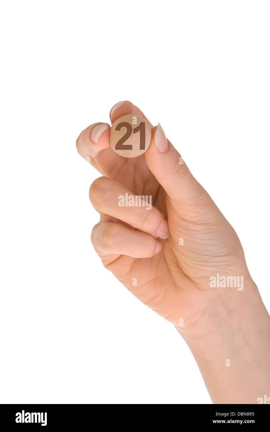 Bingo 21 Foto & Imagen De Stock: 58860233 - Alamy