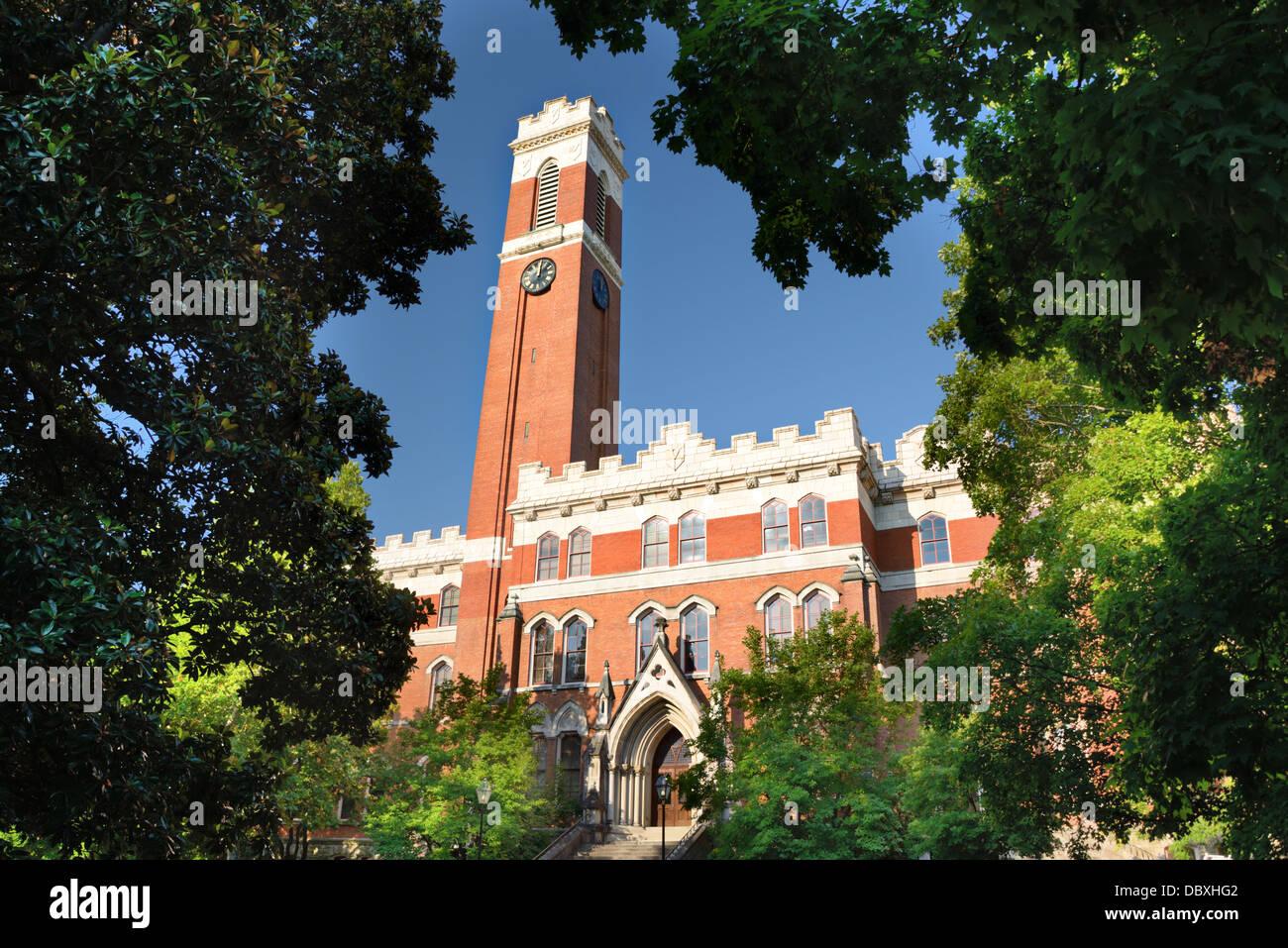 Campus de la Universidad de Vanderbilt en Nashville, Tennessee. Imagen De Stock