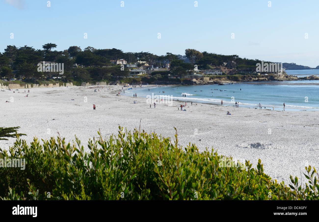 Playa Carmel Carmel-por--Mar Foto de stock