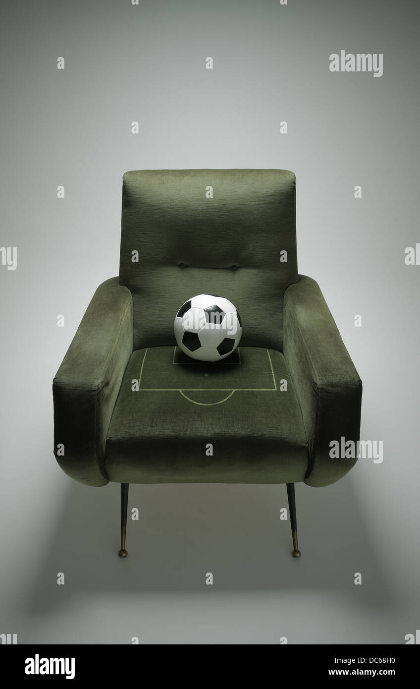Fútbol Foto de stock