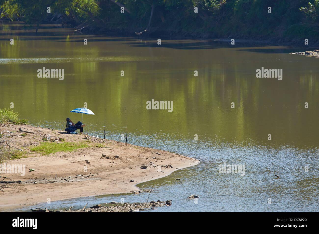 Pesca relajado Imagen De Stock