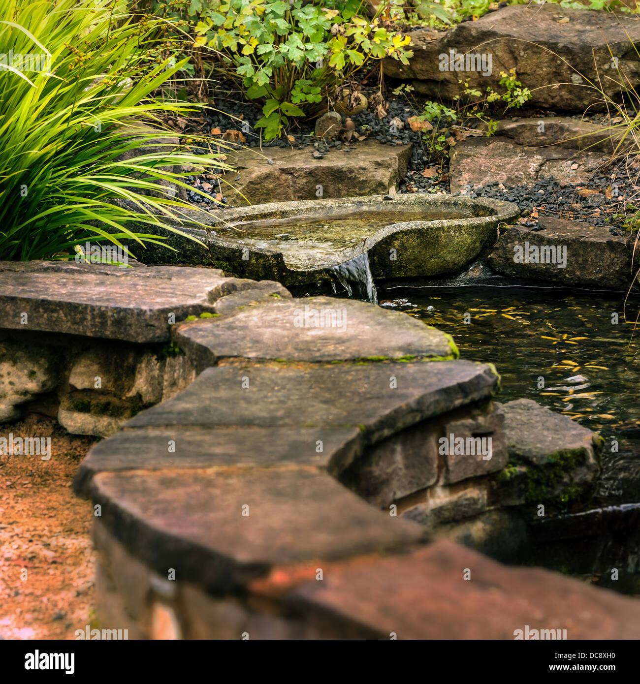 Jardin Mineral Zen Photo patio jardín zen - estanque foto & imagen de stock: 59203452