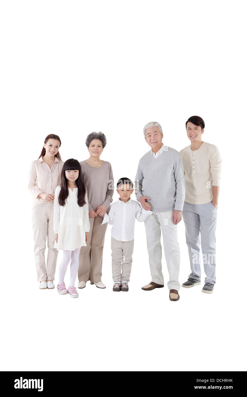 Familia feliz Imagen De Stock