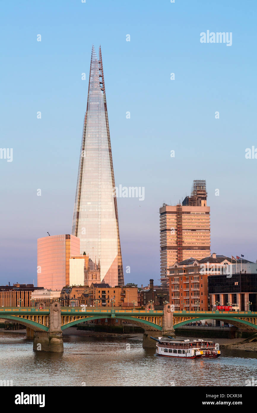 Londres, El Shard London Bridge. Imagen De Stock