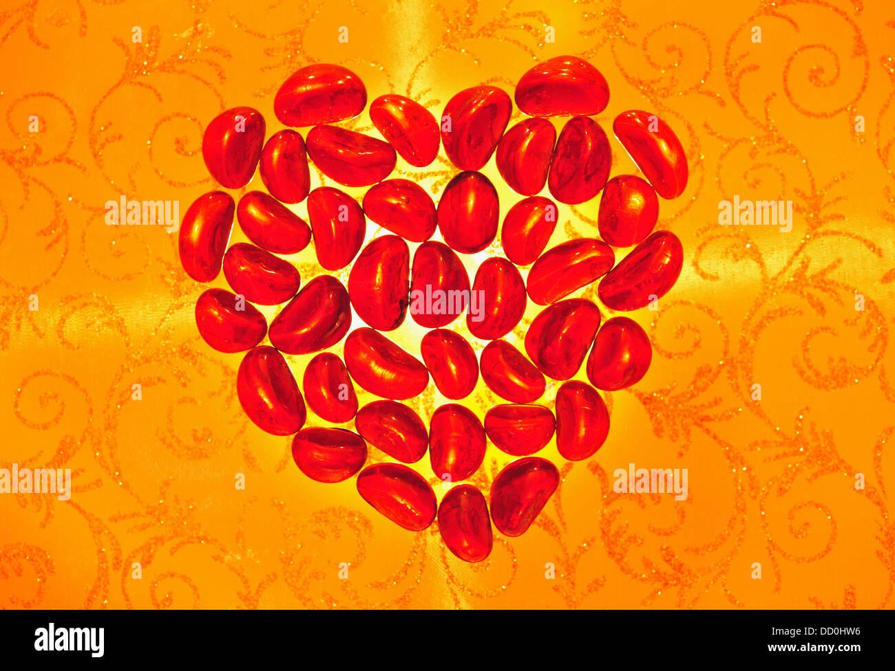 Corazón rojo Imagen De Stock