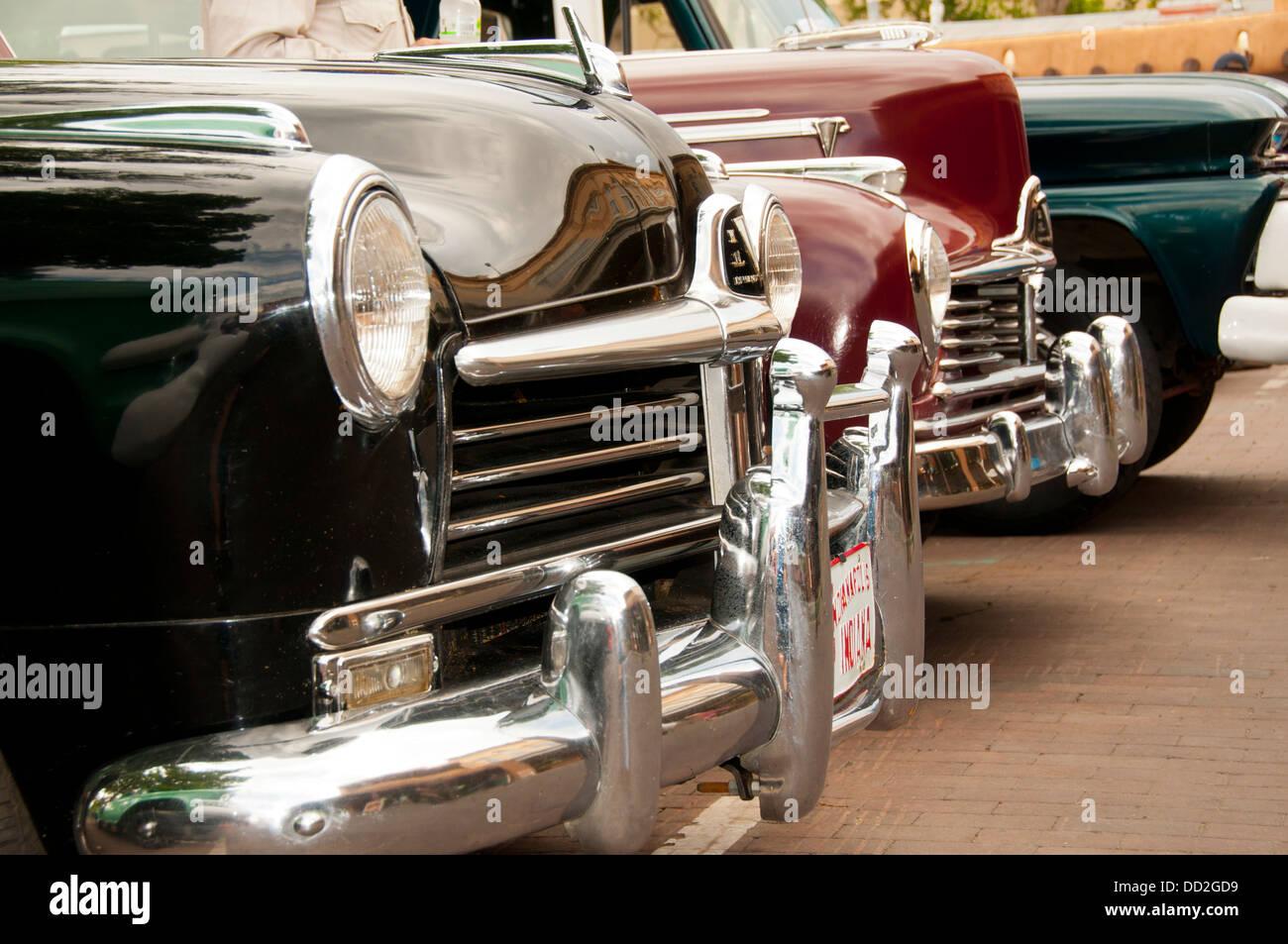 Los automóviles antiguos Imagen De Stock