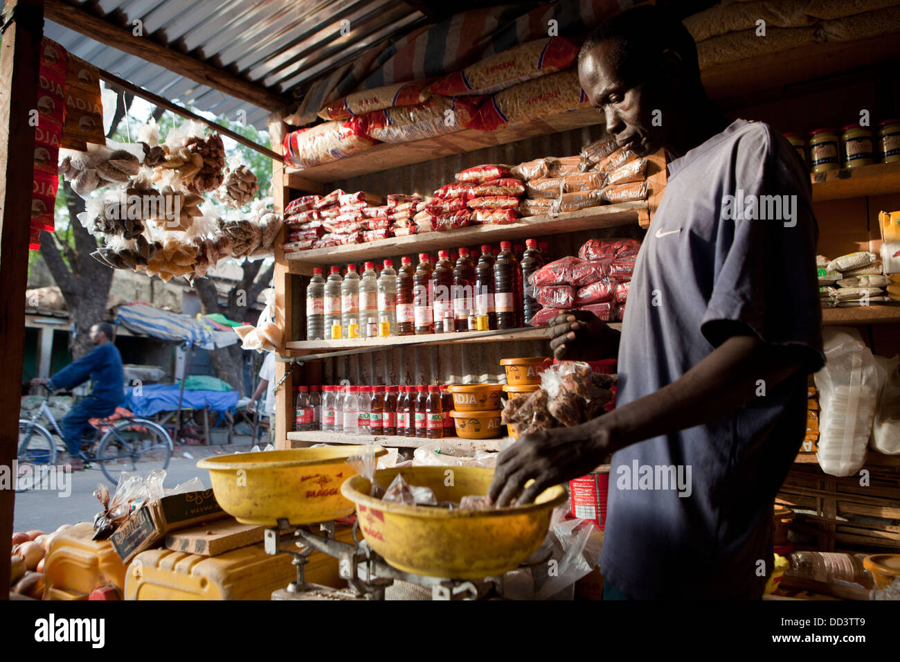 Kolda, Senegal, África occidental. Imagen De Stock