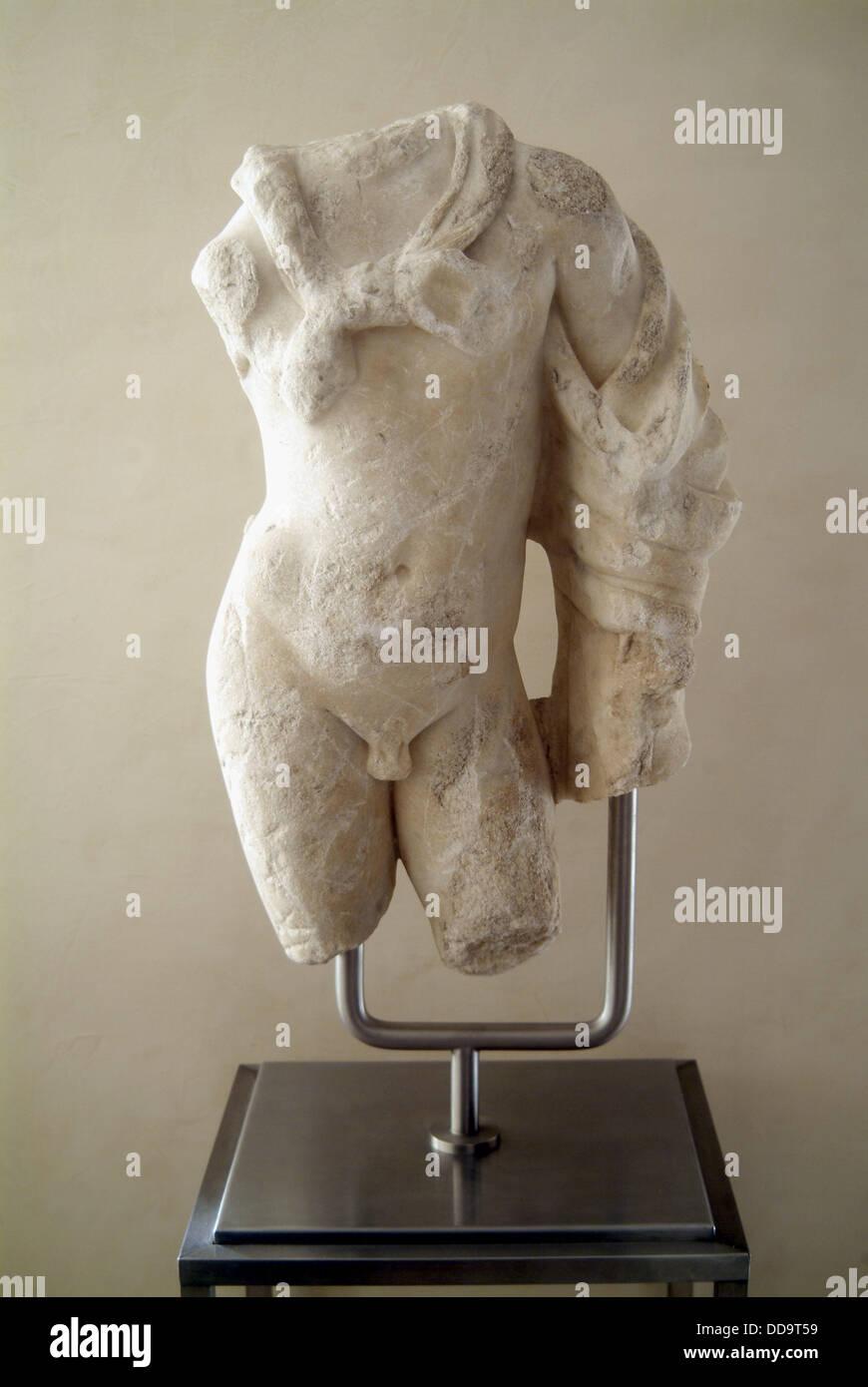 Hércules romano, colección privada. Foto de stock