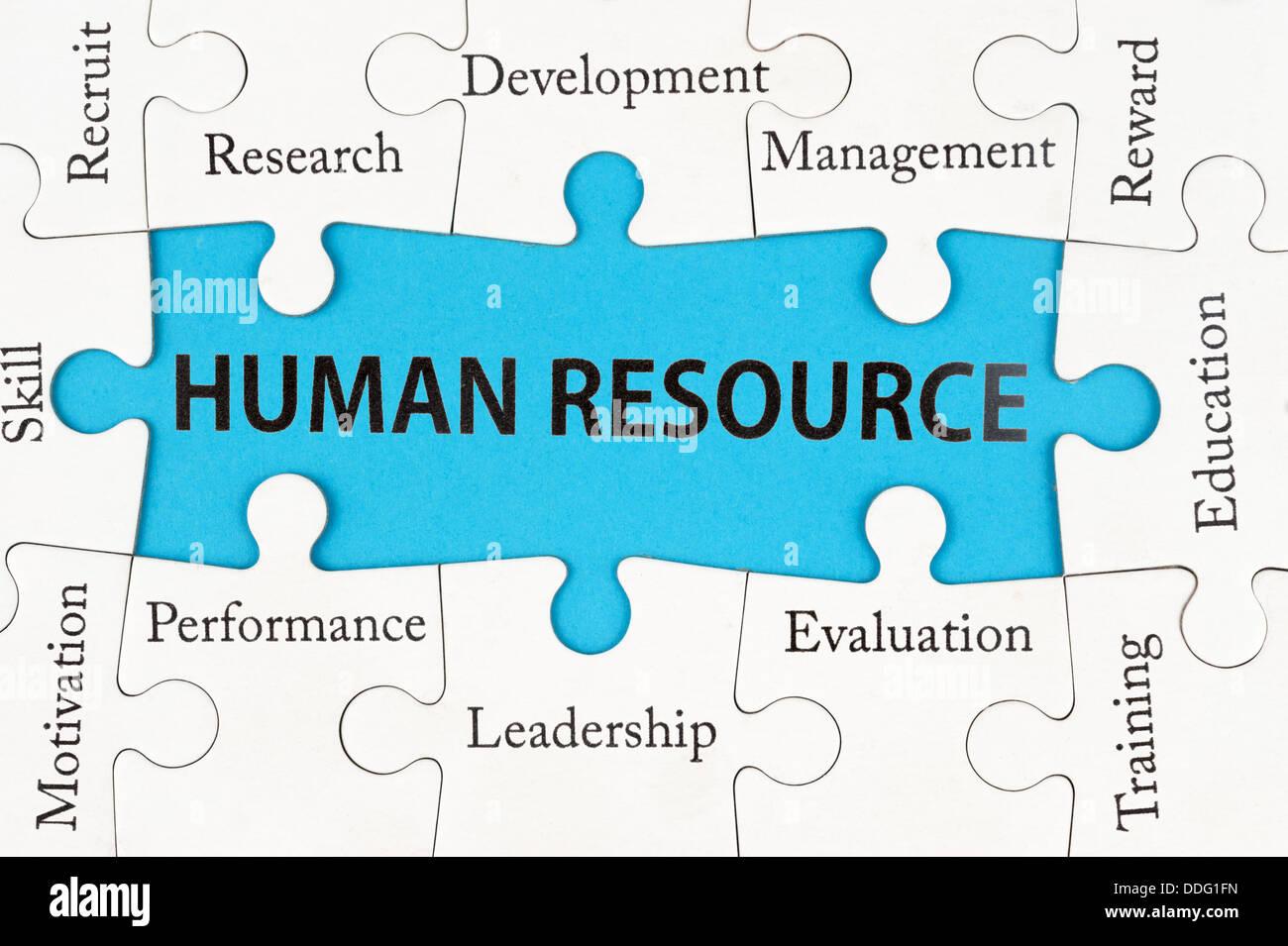 Human Resource Concept Imágenes De Stock & Human Resource Concept ...