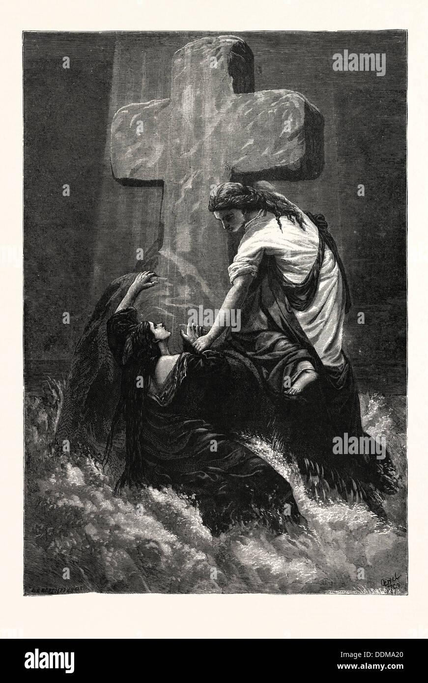 La MANO. Impresión religiosa. Imagen De Stock