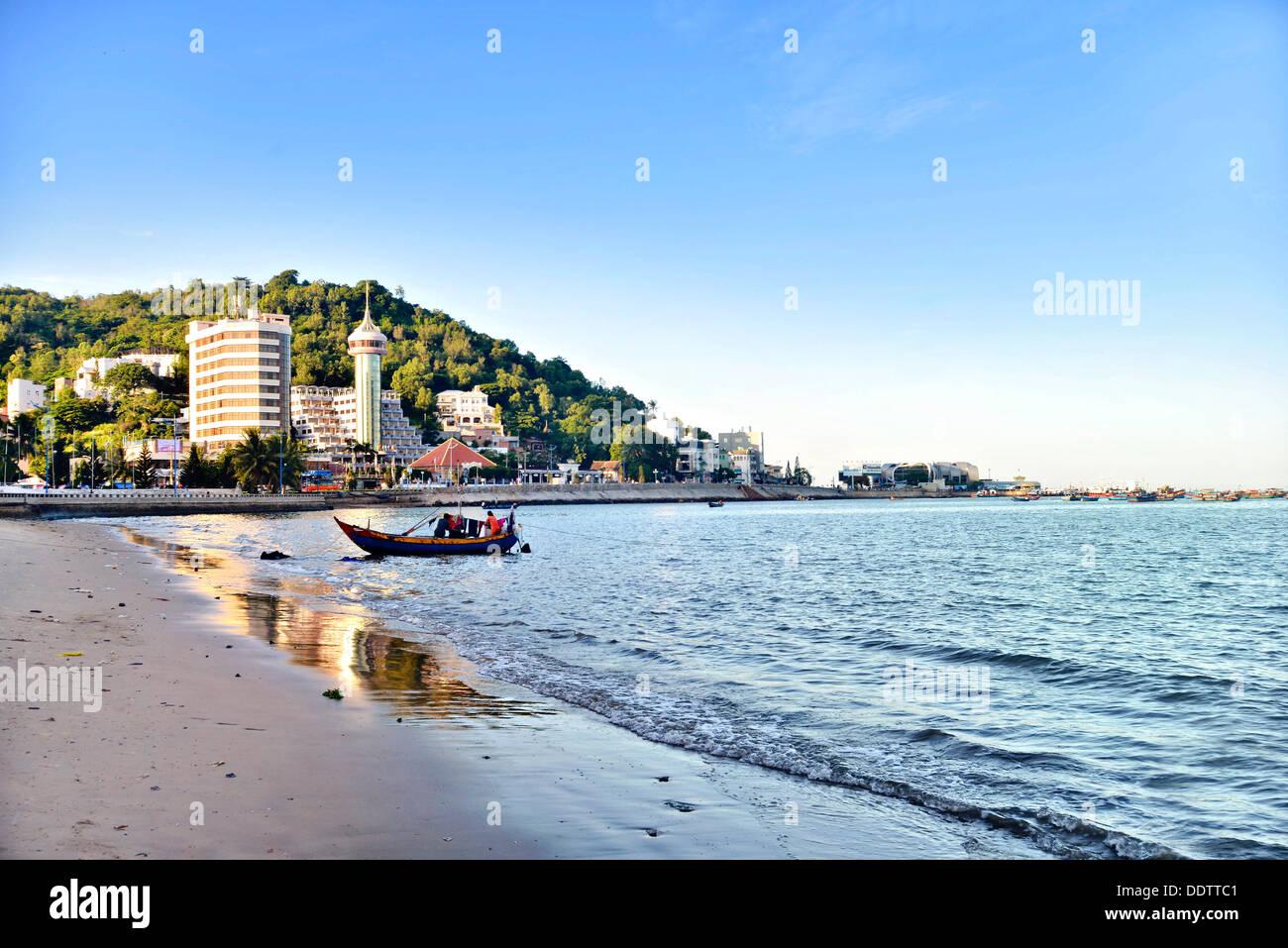Vung Tau, Bai Truoc, frente a la playa, Vietnam Foto de stock
