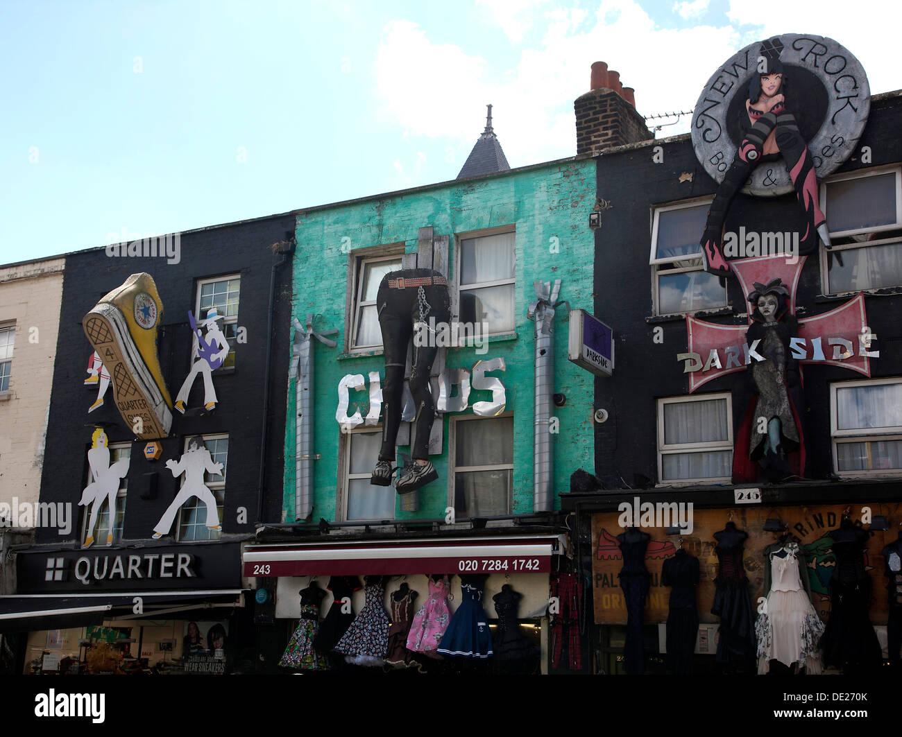 81b251013 Camden Town Market Lock Goth Imágenes De Stock & Camden Town Market ...