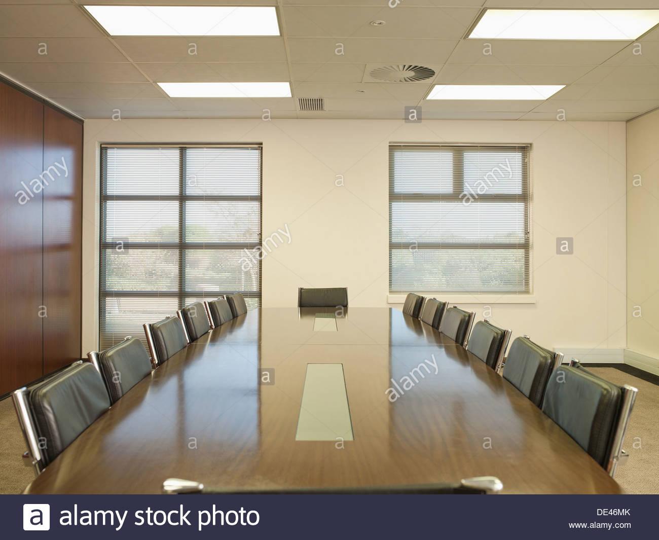 Sala de conferencias vacía Imagen De Stock