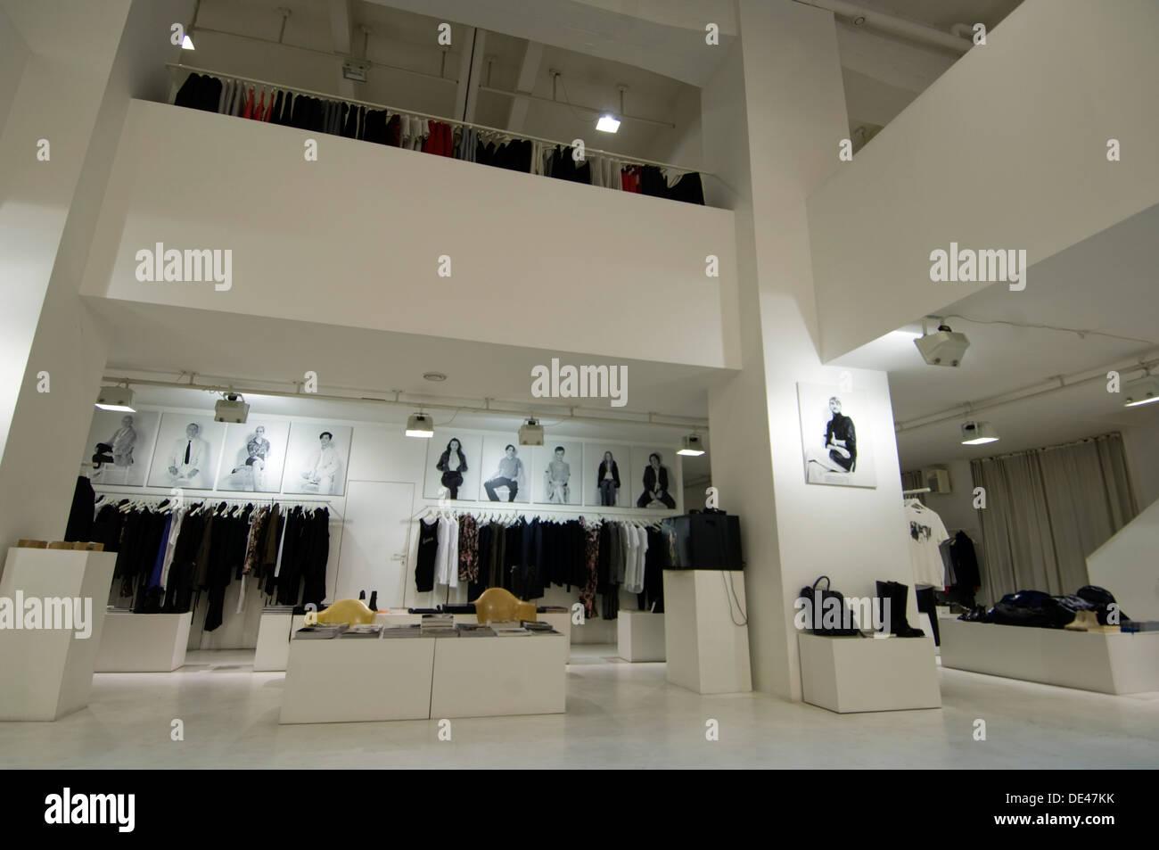 Österreich, Wien, Mondscheingasse 20, Parque Boutique Concept Store Imagen De Stock