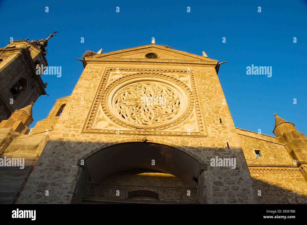 Santa María la Mayor en 'la' Iglesia Colegiate colegial. Talavera de la Reina. La provincia de Toledo. España Imagen De Stock