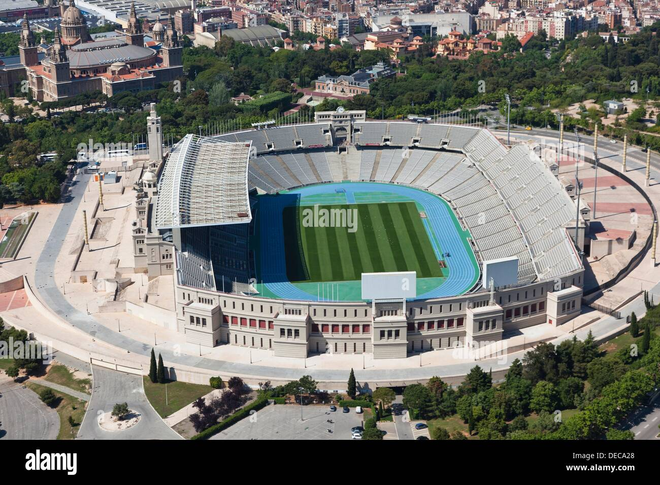 Estadio Olimpico Anillo Olimpico Montjuic Barcelona Cataluna