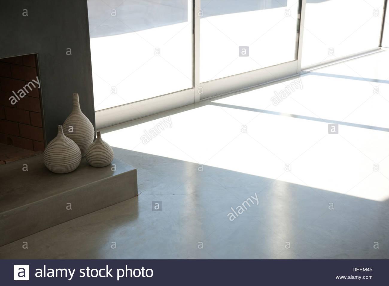 Interior de la sala de estar moderna Imagen De Stock