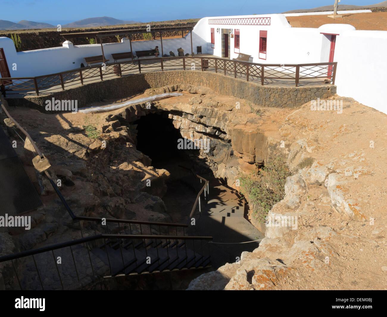 Cuevo Del Llano Cueva Del Llano Villaverde La Oliva Fuerteventura Islas Canarias Fotografía De Stock Alamy