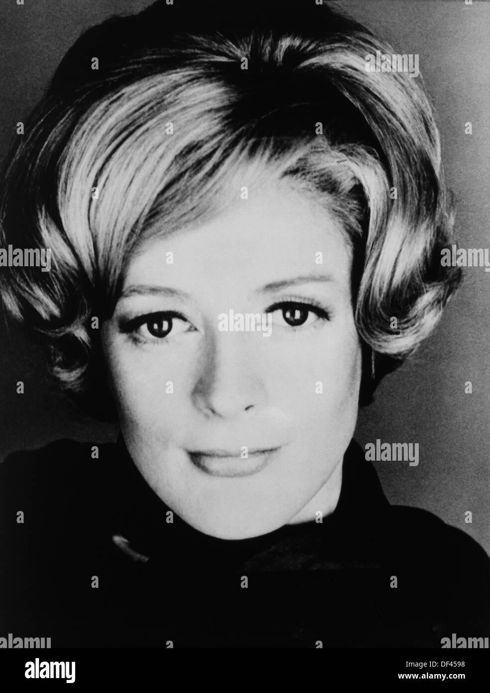 """Maggie Smith, Retrato, en el plató de la película, """"la plenitud de la señorita Jean Brodie', 20th Century Fox, 1969 Imagen De Stock"""
