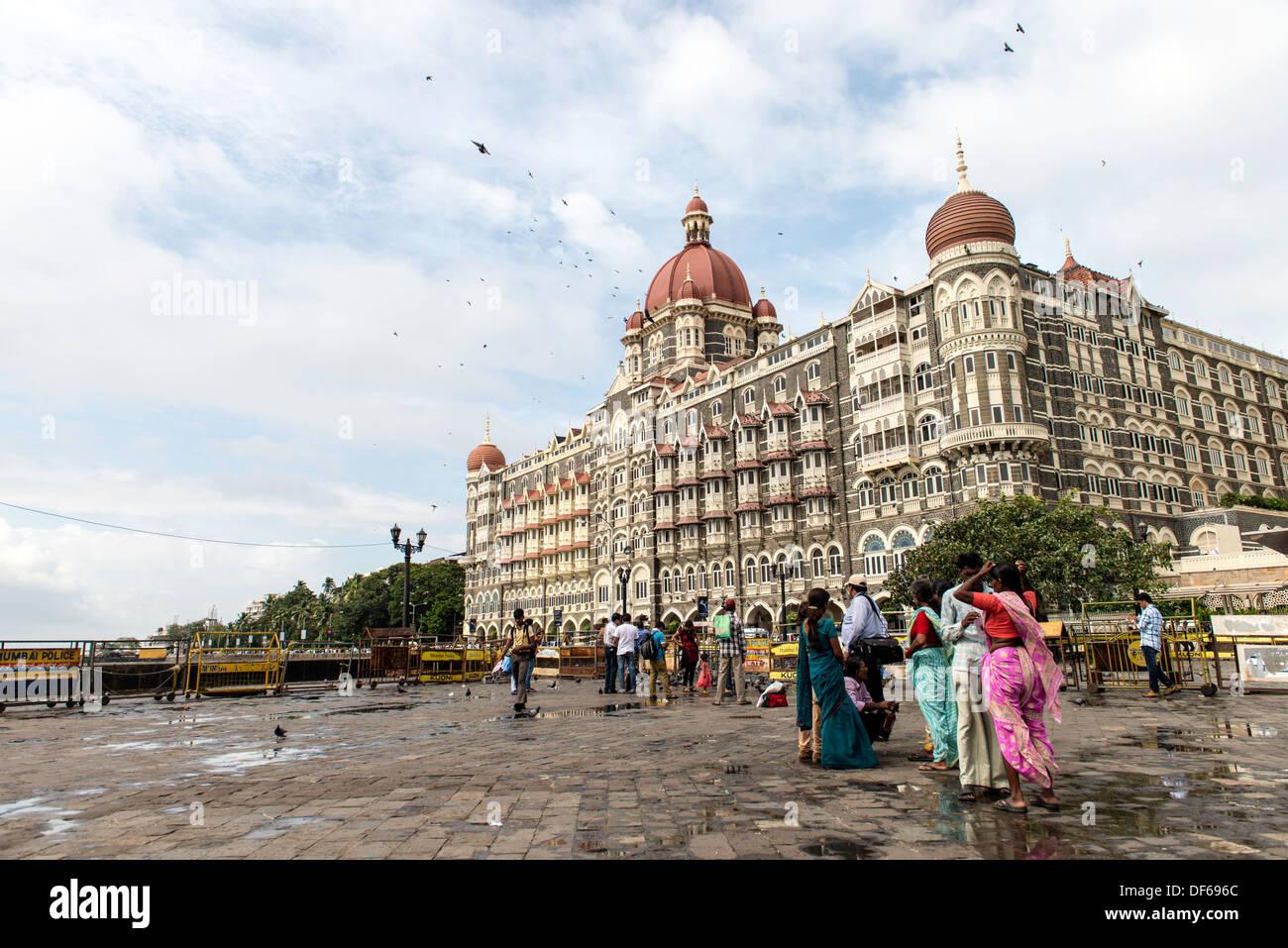 El Taj Mahal Palace Hotel Mumbai, India Imagen De Stock