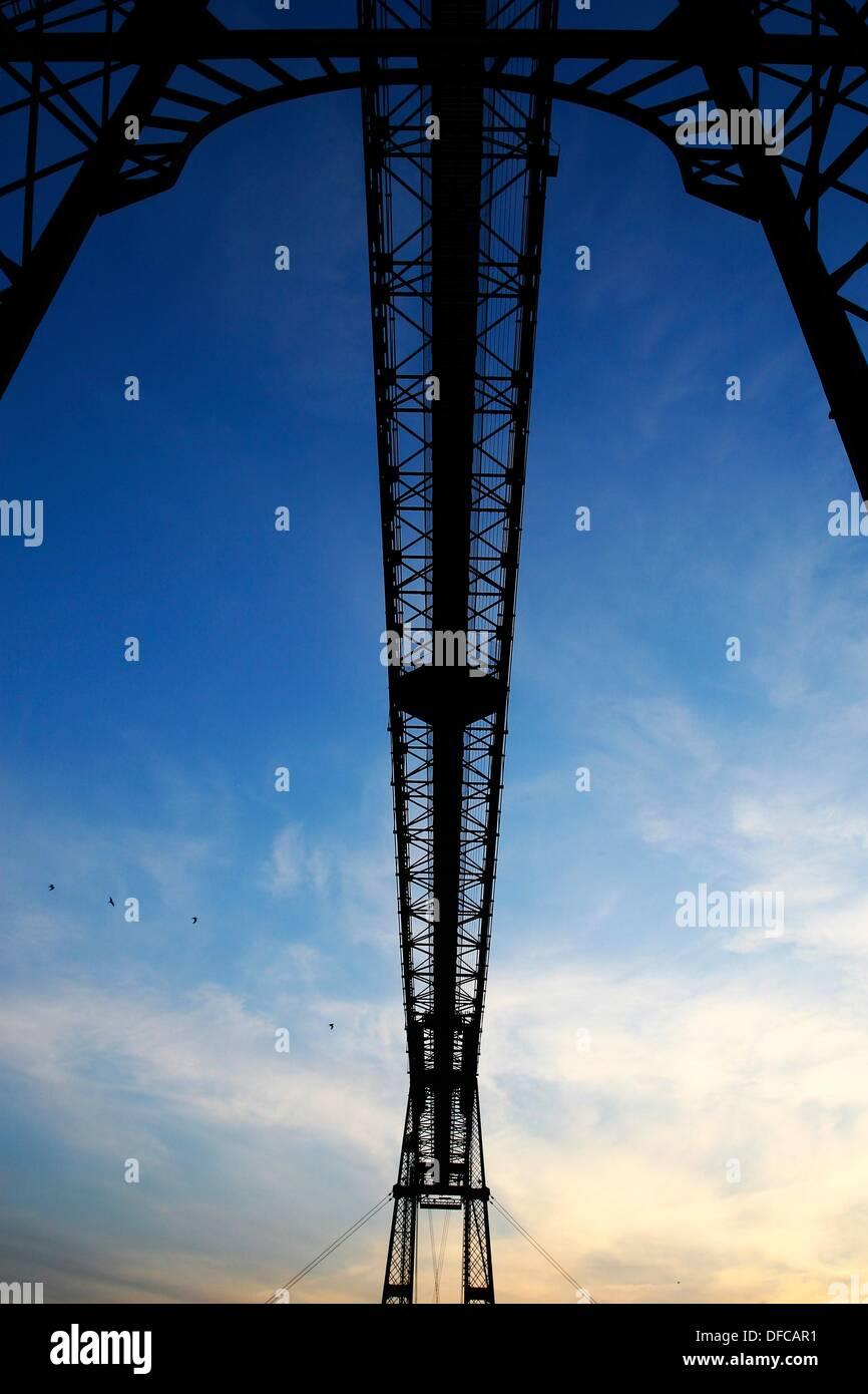 Puente Colgante Foto de stock