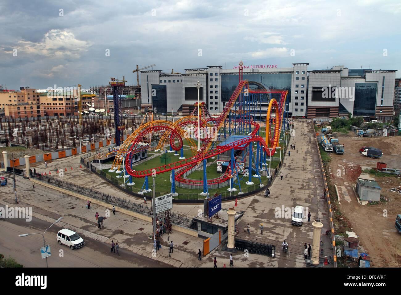 Dhaka, Bangladesh. 03 Oct, 2013. . Futuro Jamuna Park, el mayor centro comercial y de ocio de Asia y la tercera más grande del mundo. Esta es también la12th centro comercial más grande del mundo, con una superficie bruta alquilable de 4,1 millones de metros cuadrados y una superficie total de 5,45 millones de metros cuadrados. Foto de stock