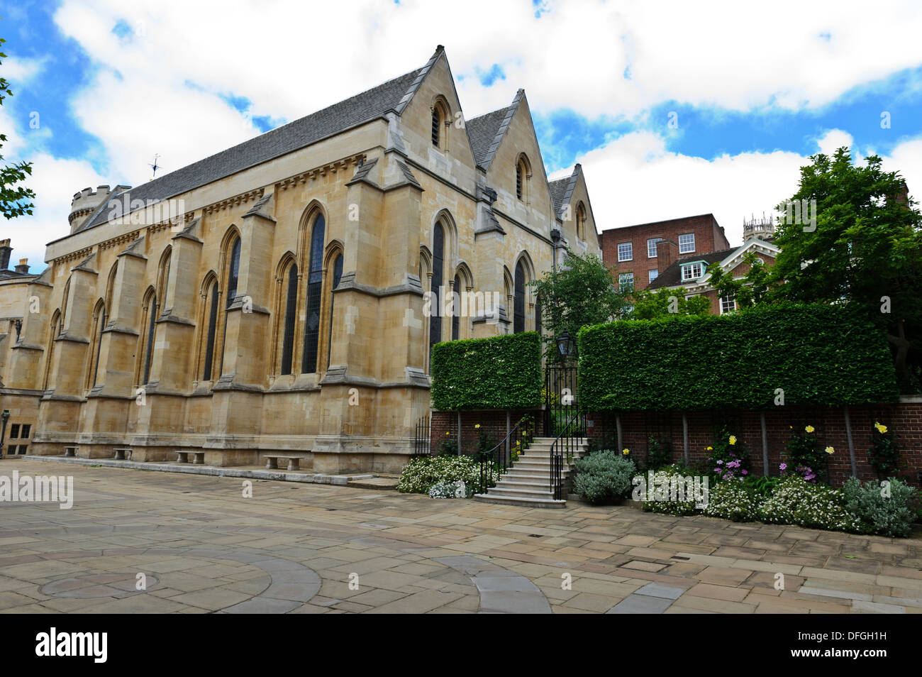 La iglesia del Temple, Londres, Inglaterra, Reino Unido. Imagen De Stock