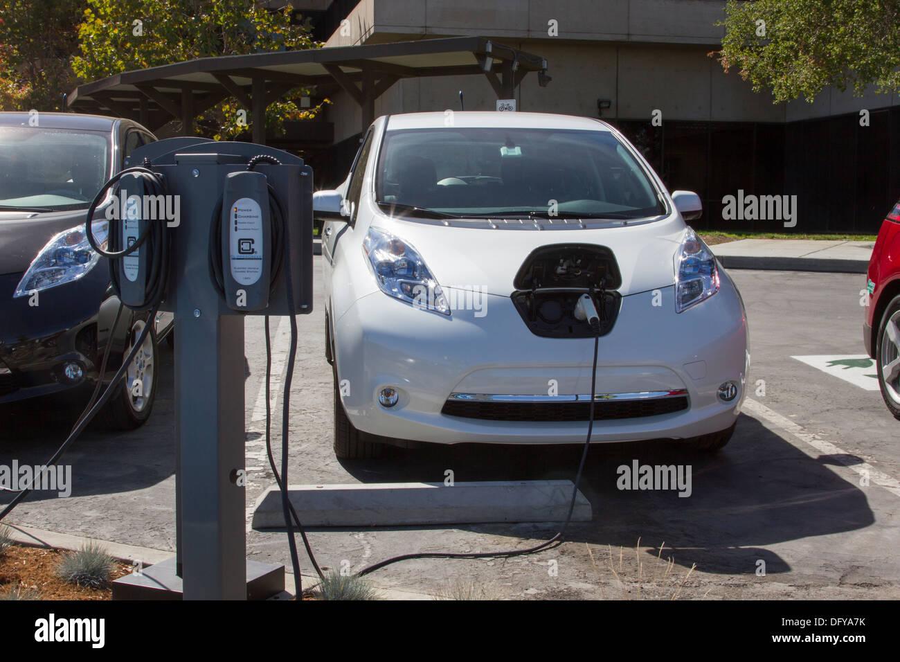 Trabajos sobre autos electricos