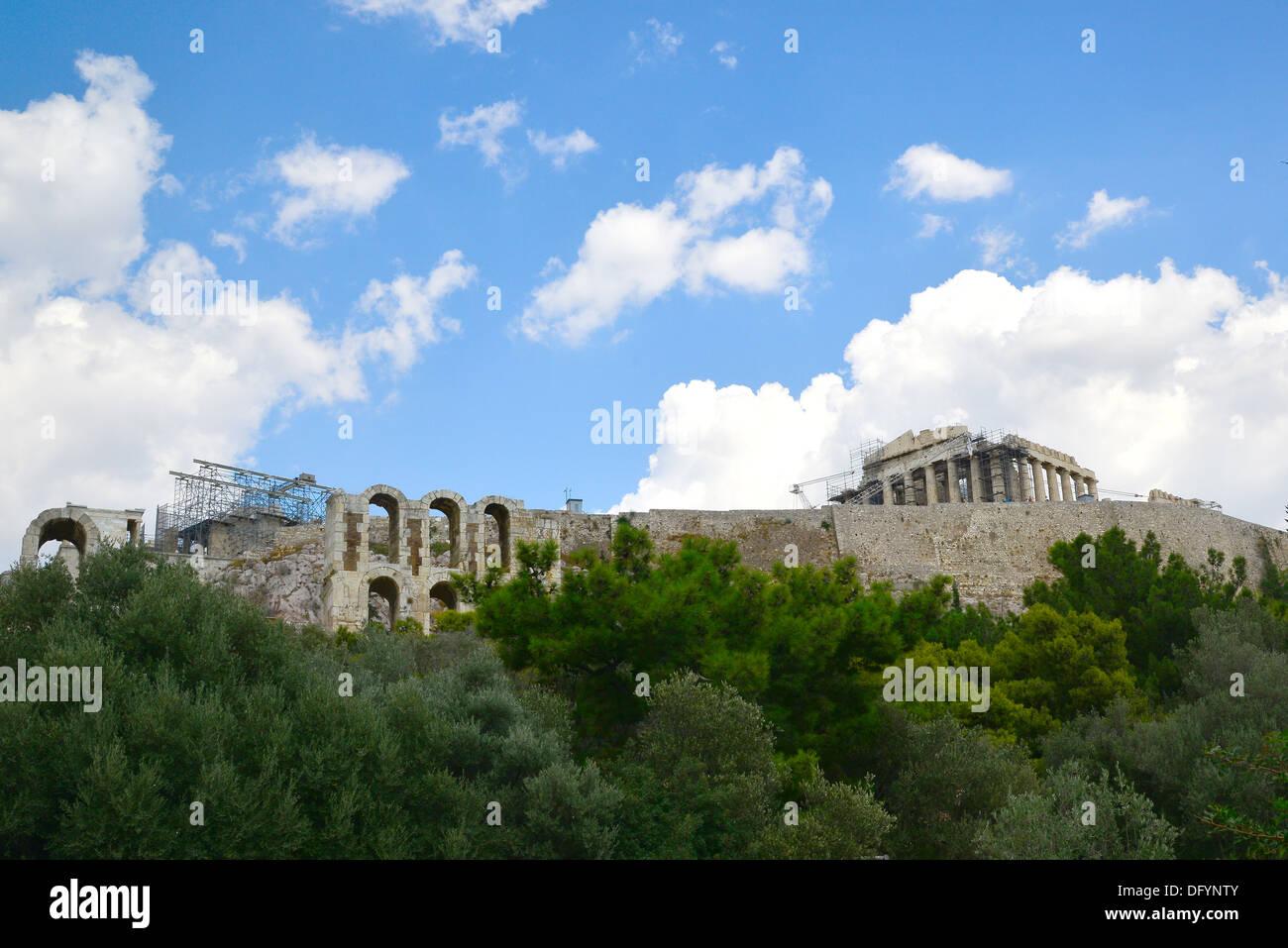 La Roca Sagrada de la Acrópolis de Atenas, Grecia