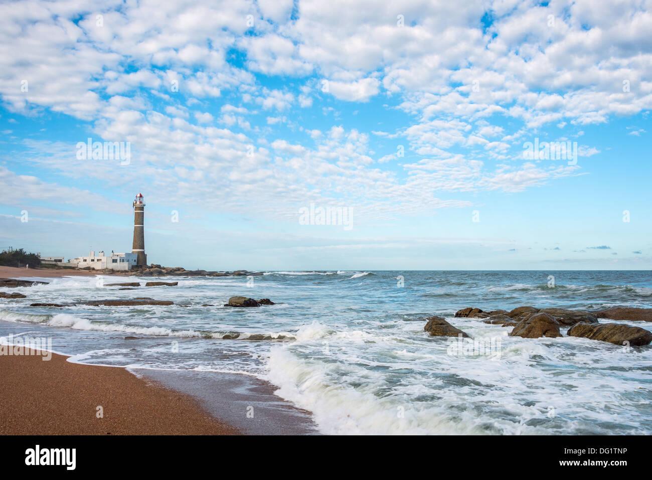 Faro de José Ignacio, cerca de Punta del Este, Uruguay Imagen De Stock