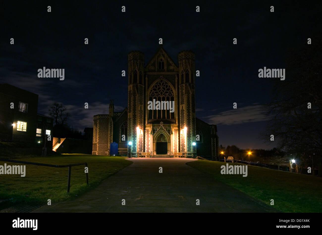 Iglesia del Sagrado Corazón de Jesús, Borde Hill, Wimbledon. Foto de stock