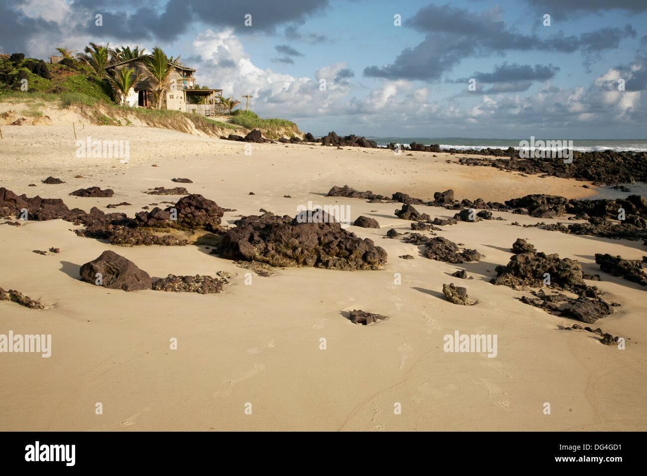 Praia do Amor, playa de Pipa. Tibau do Sul, Rio Grande do Norte, Brasil Imagen De Stock
