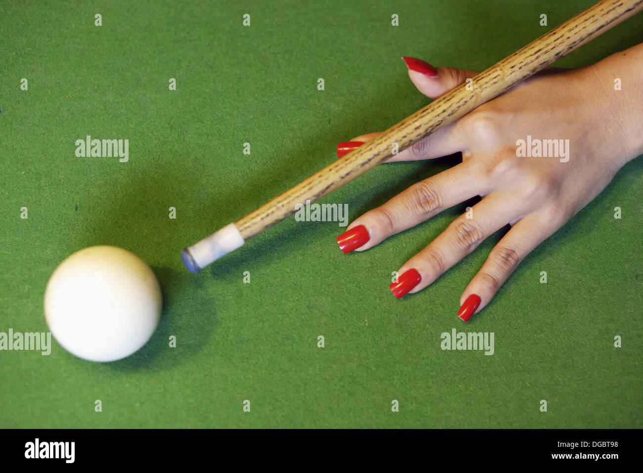 Red Finger Nails Imágenes De Stock & Red Finger Nails Fotos De Stock ...