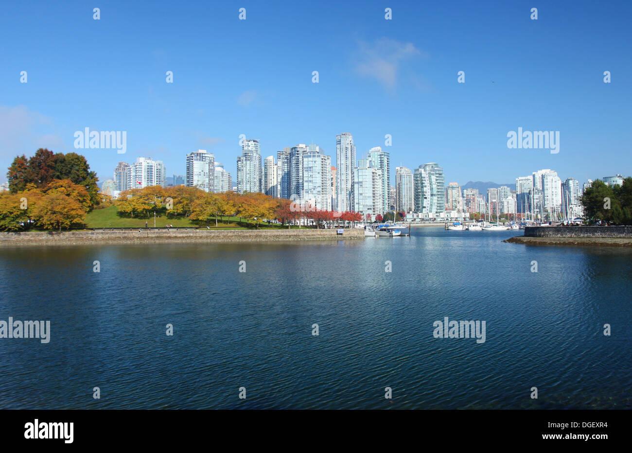 En Vancouver, British Columbia, Canadá Imagen De Stock