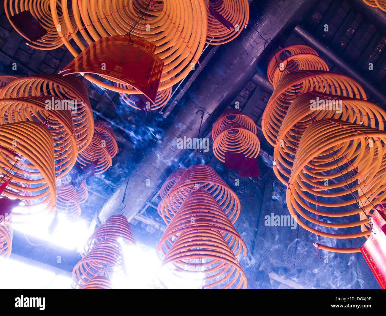 Joss palos Macao el templo A-Ma Ma Kok Miu 2013 Imagen De Stock