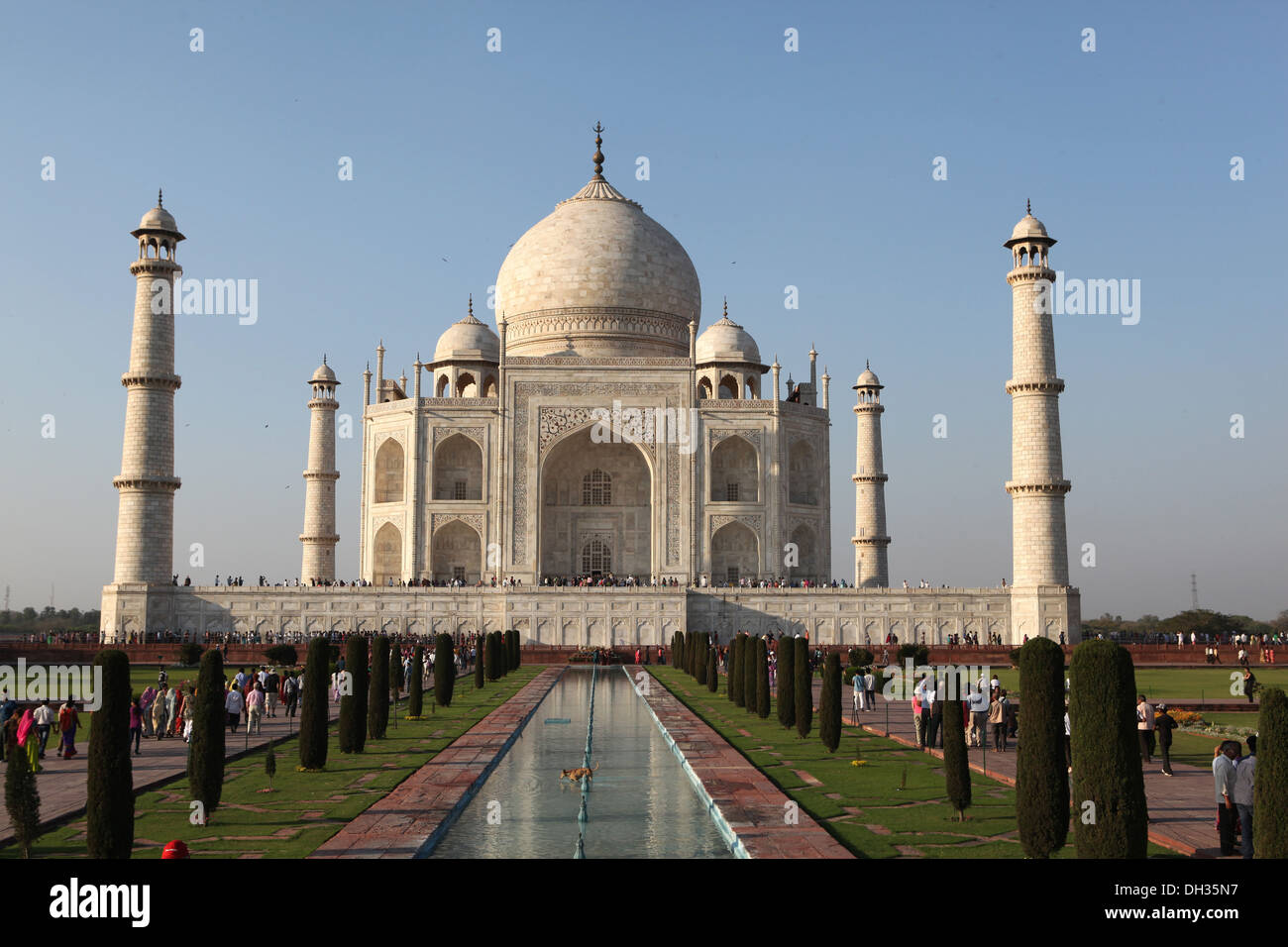 Taj Mahal, Agra, Uttar Pradesh, India, Asia Imagen De Stock