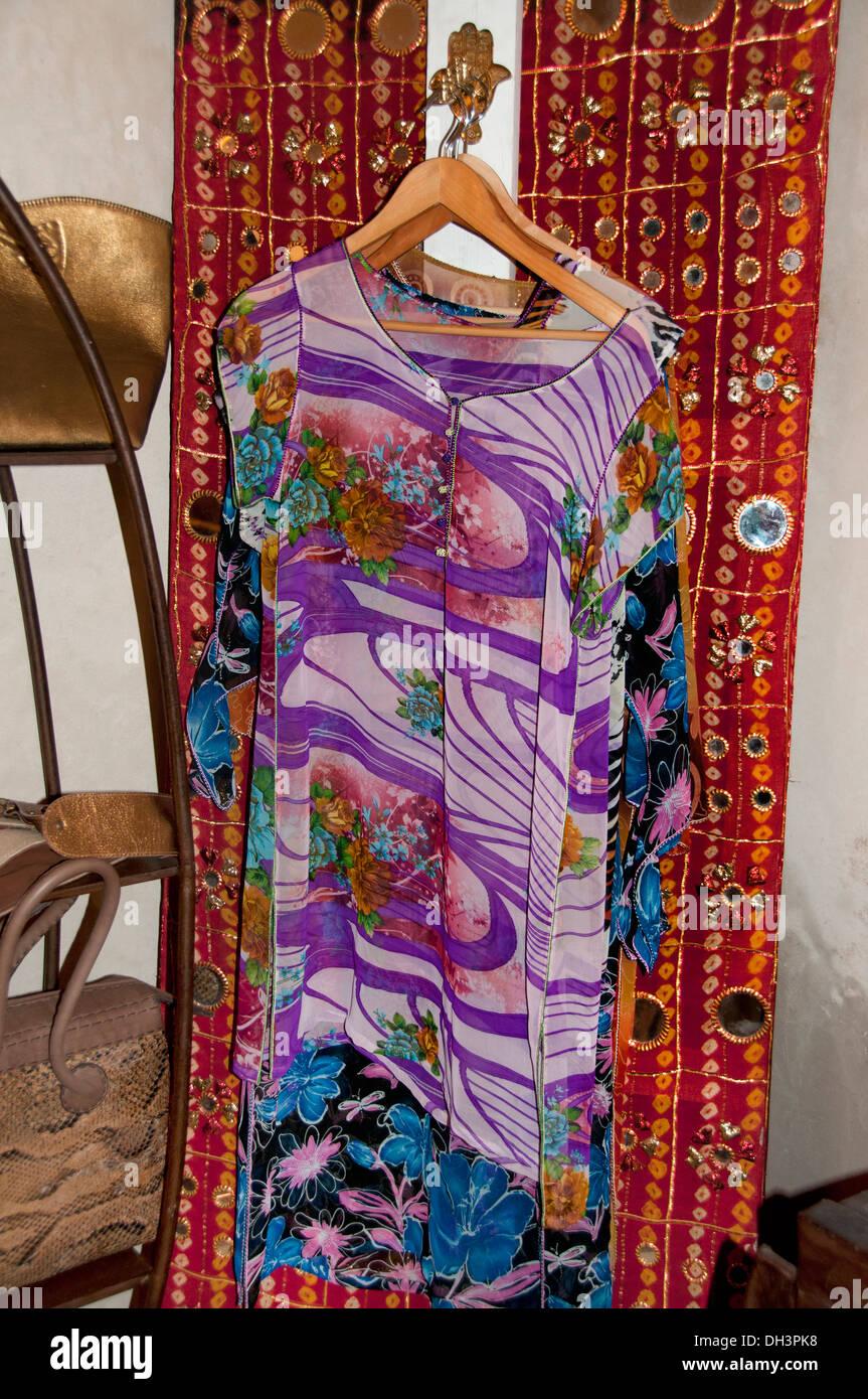 Marrakech tienda boutique de moda joven cool classy Marruecos Imagen De Stock