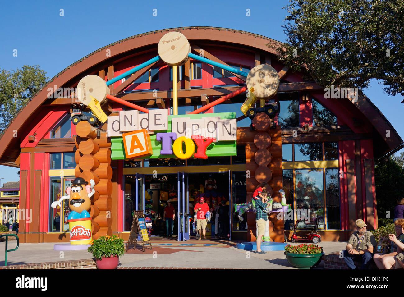 Érase un juguete Tienda en Downtown Disney Marketplace, Disney World Resort, Orlando, Florida Imagen De Stock
