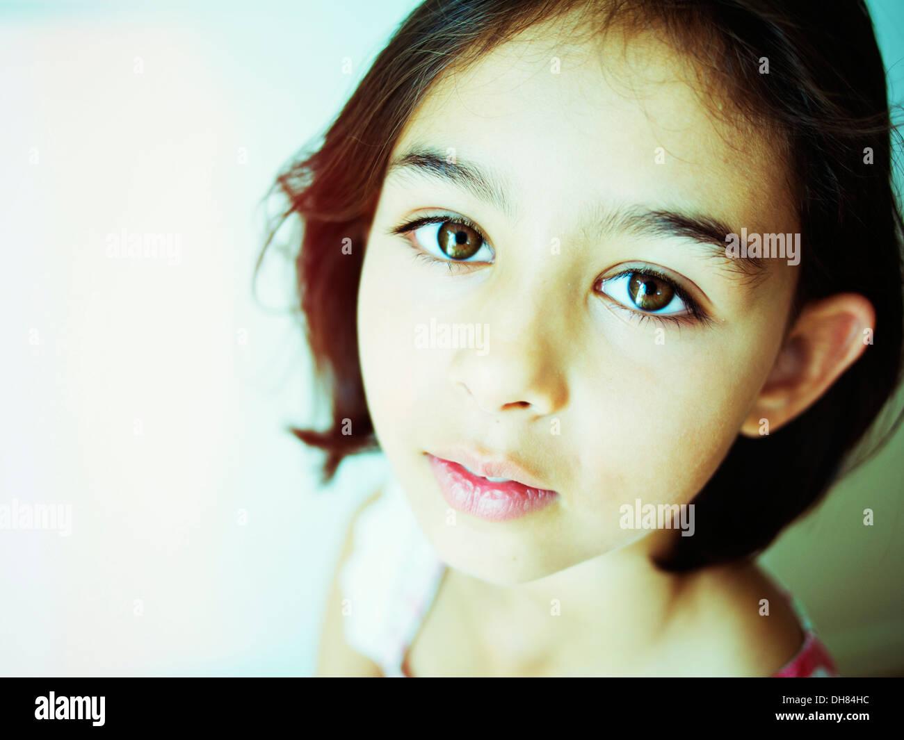 Retrato de la muchacha Imagen De Stock