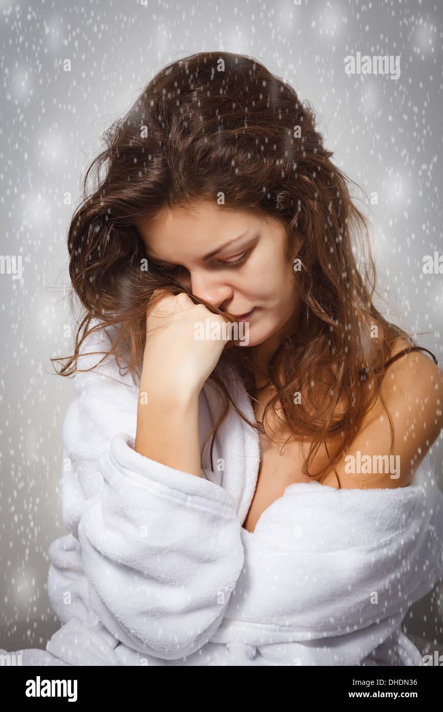 Depresión invernal Imagen De Stock