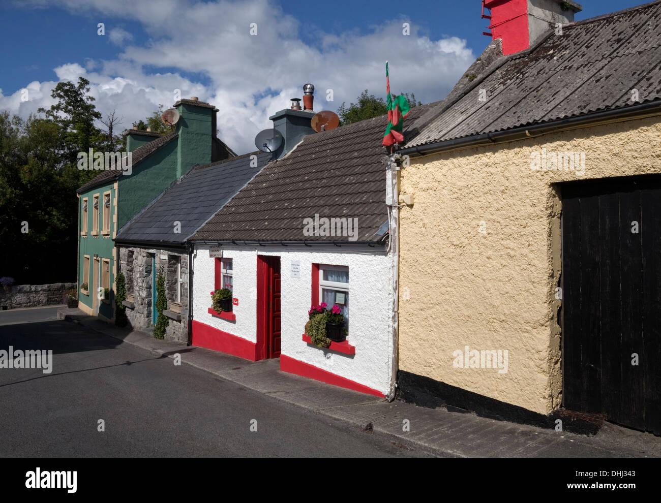 El hombre 'Dying House' Desde 'El hombre tranquilo' film, Cong, Condado de Mayo, Irlanda Imagen De Stock
