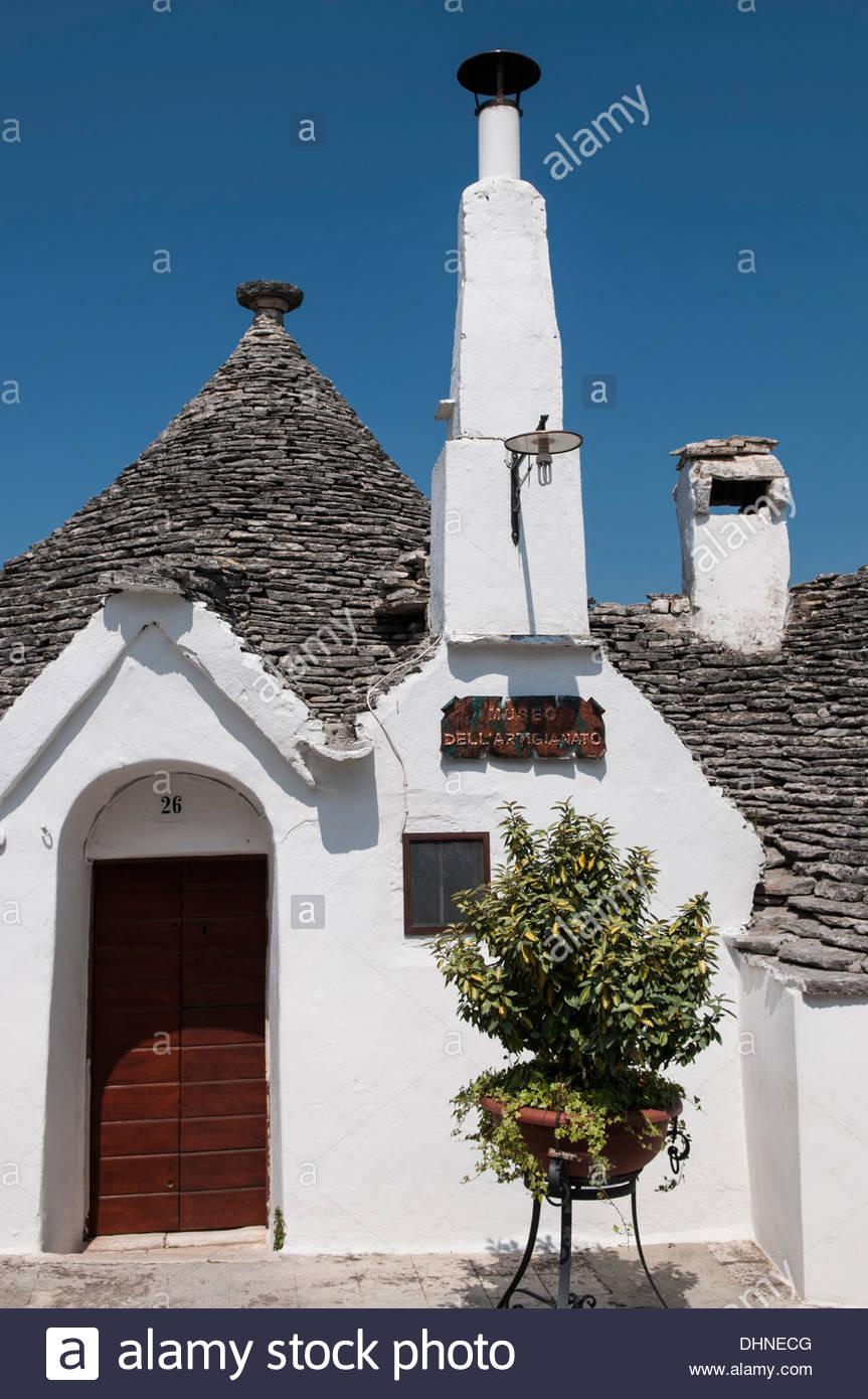 Trullo,Alberobello, Puglia, Italia Imagen De Stock