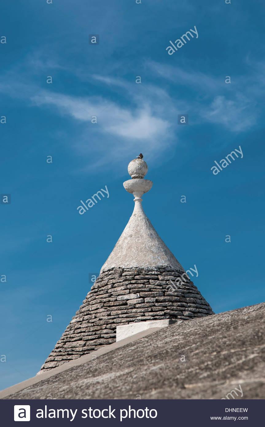 Trullo,Alberobello, Italia Imagen De Stock